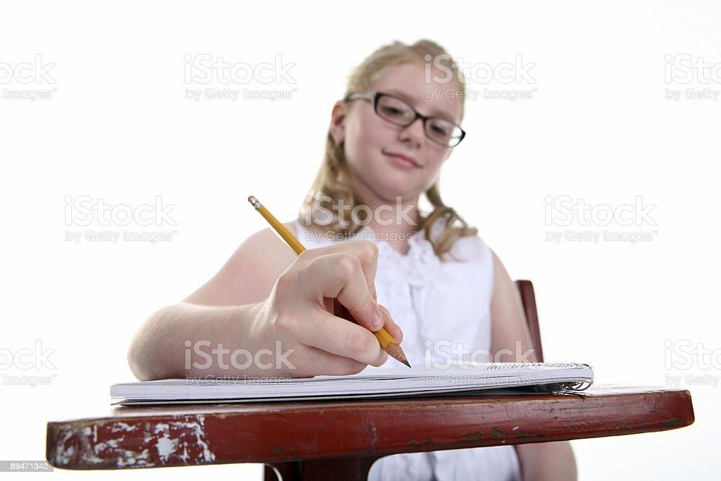 Enjoying School royalty-free stock photo