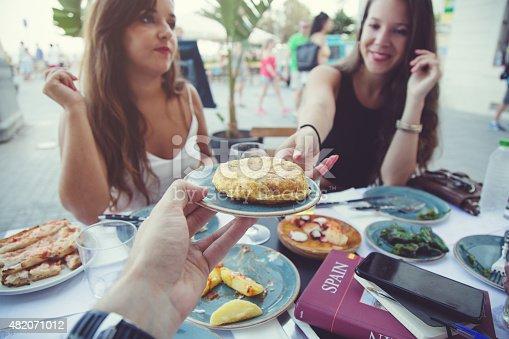 508216406 istock photo Enjoying Spanish Tapas 482071012
