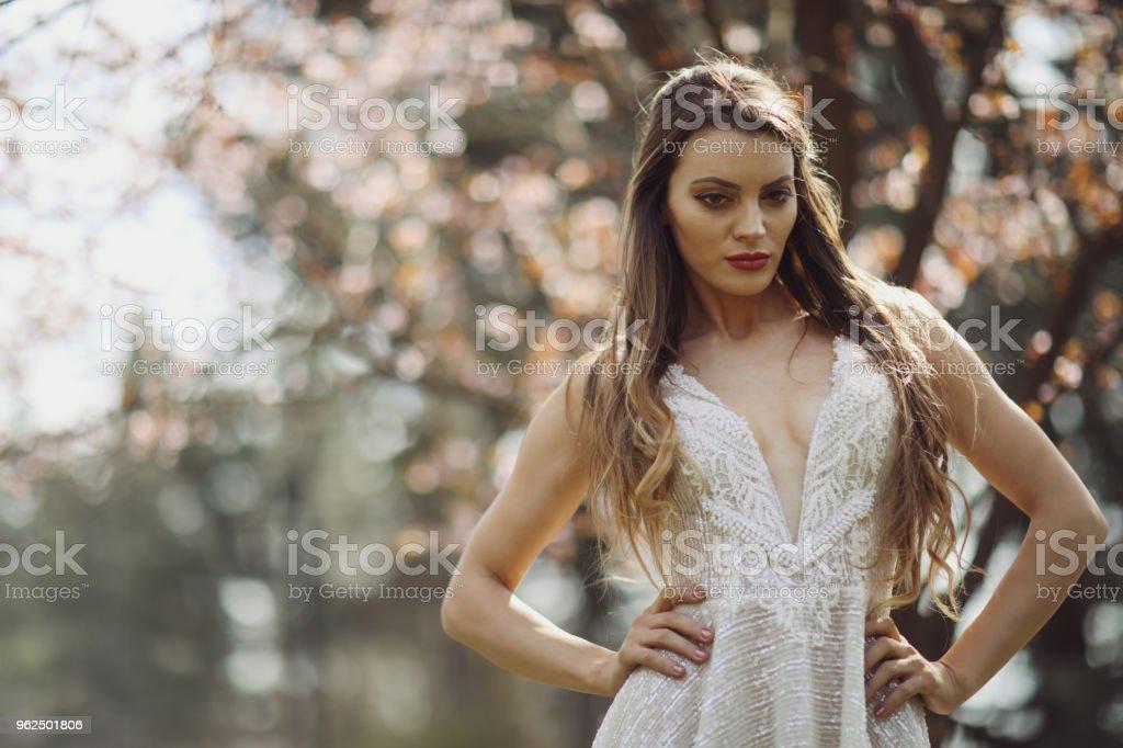 Enjoying spring - Royalty-free 20-29 Years Stock Photo
