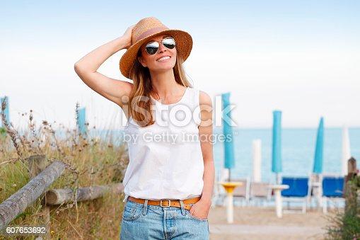 istock Enjoying sunshine 607653692