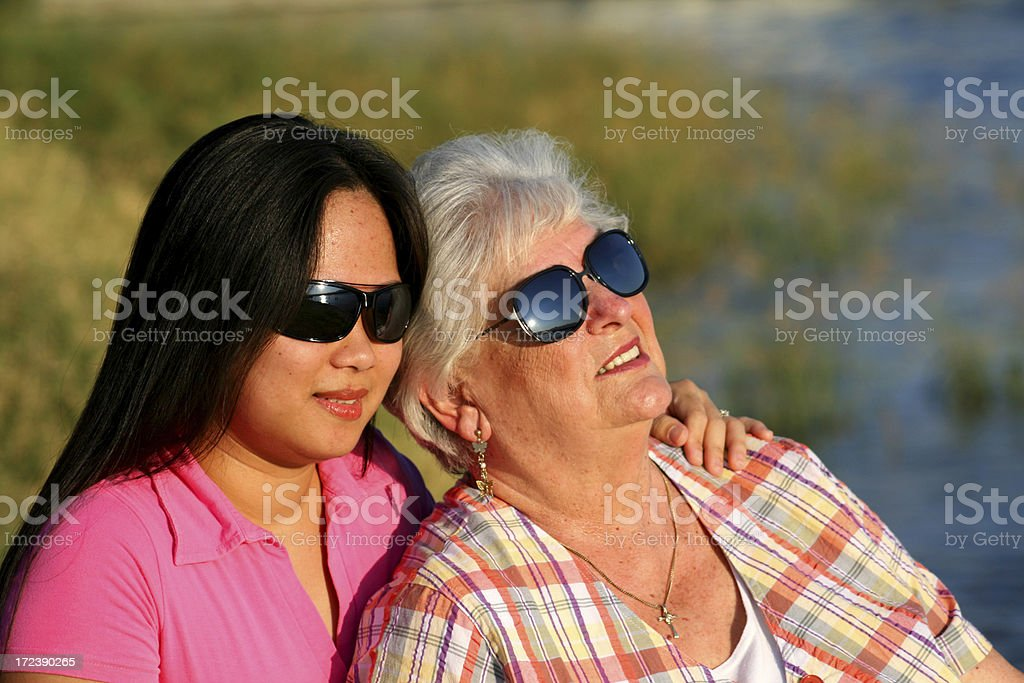 Enjoying the Afternoon royalty-free stock photo