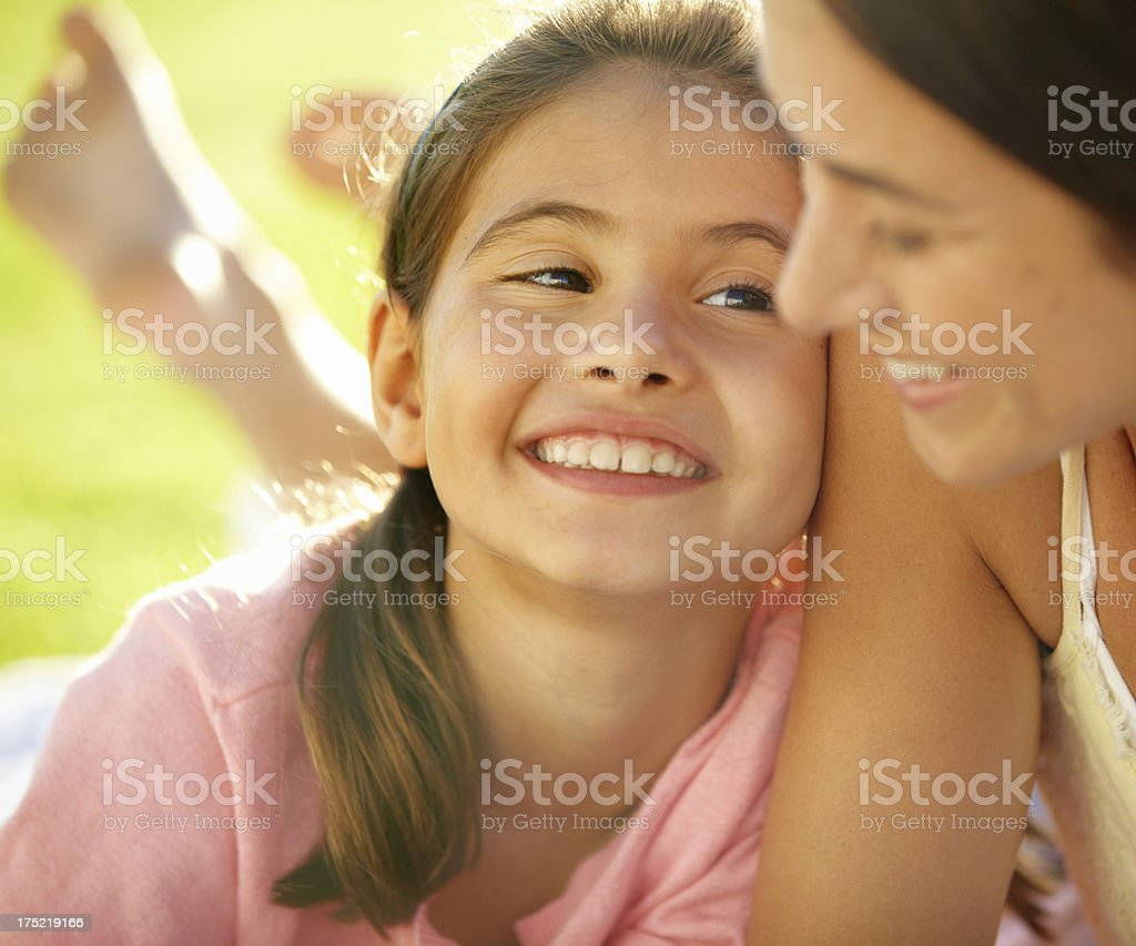 Enjoying the sun together royalty-free stock photo