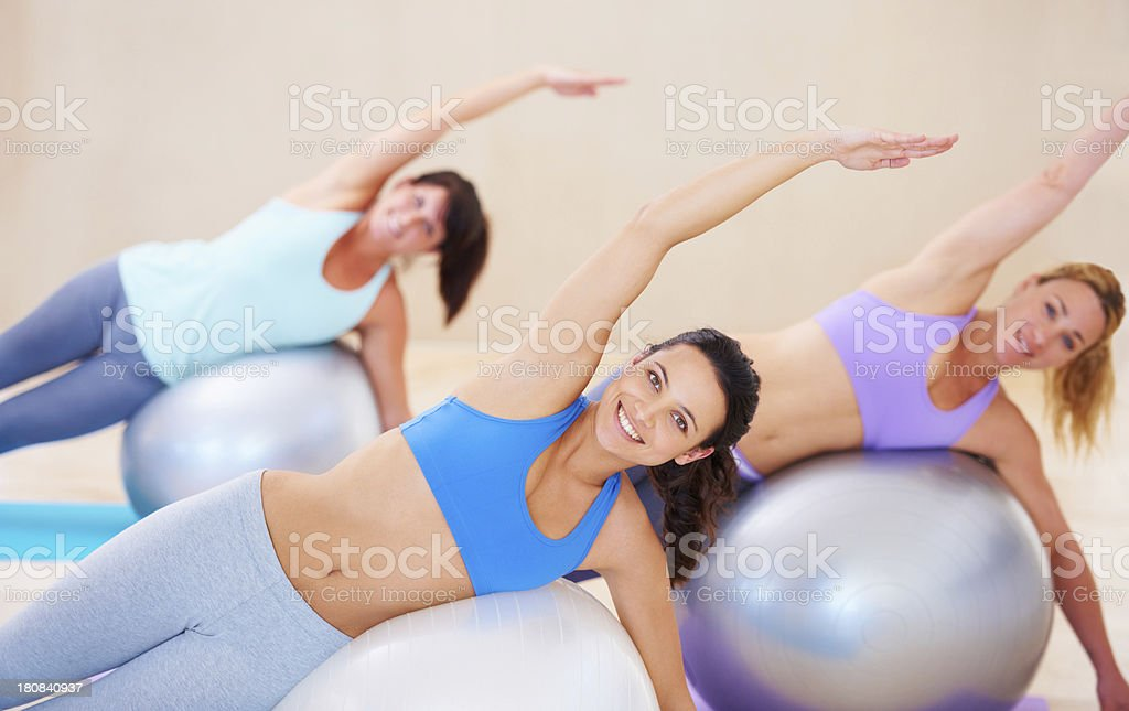Enjoying their class to the fullest royalty-free stock photo