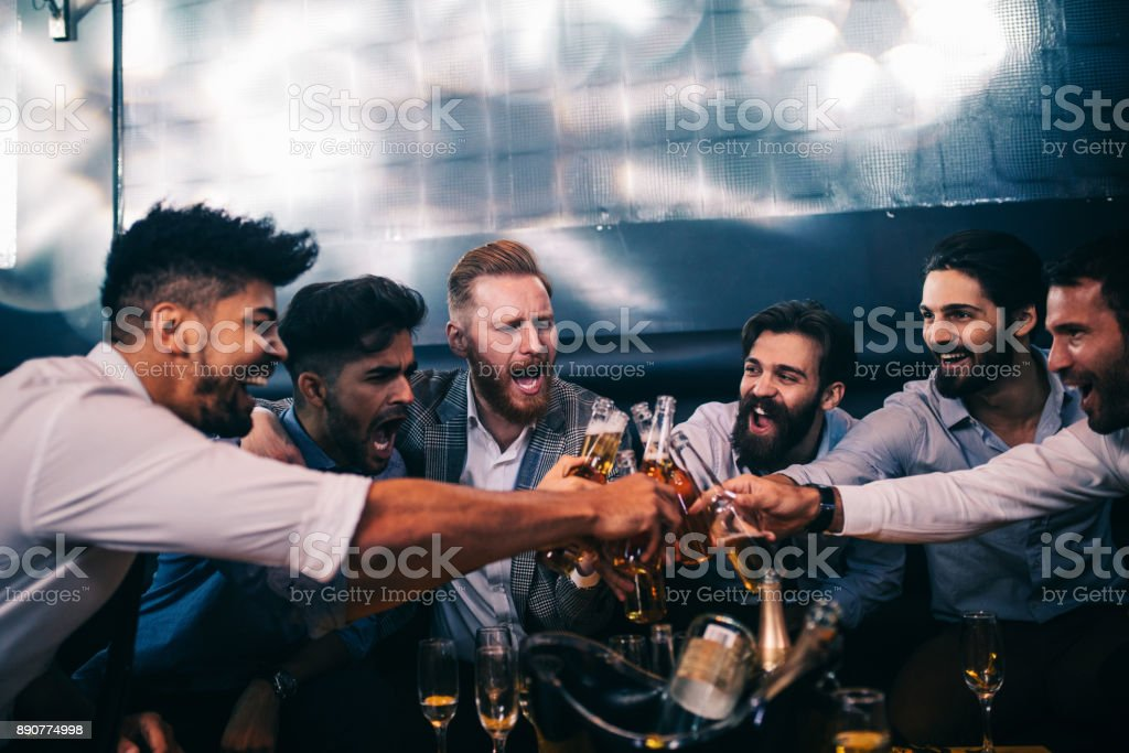 Enjoying their night out - Royalty-free Adult Stock Photo