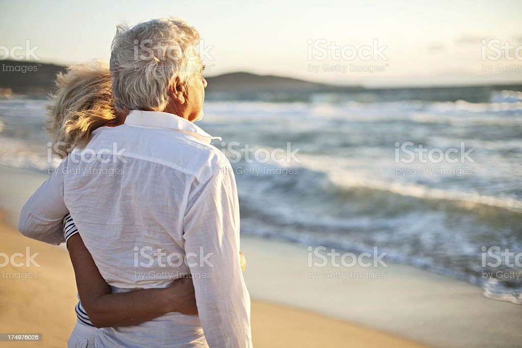 Enjoying their retirement royalty-free stock photo