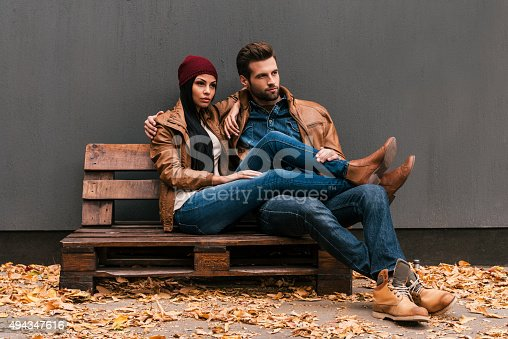 istock Enjoying time together. 494347616