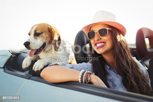 istock Enjoying your life in a cabriolet car 837201312