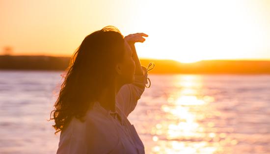 506662064 istock photo Enjoyment - free happy woman enjoying sunset 473307188
