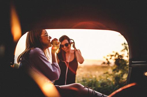 Enjoyment in car