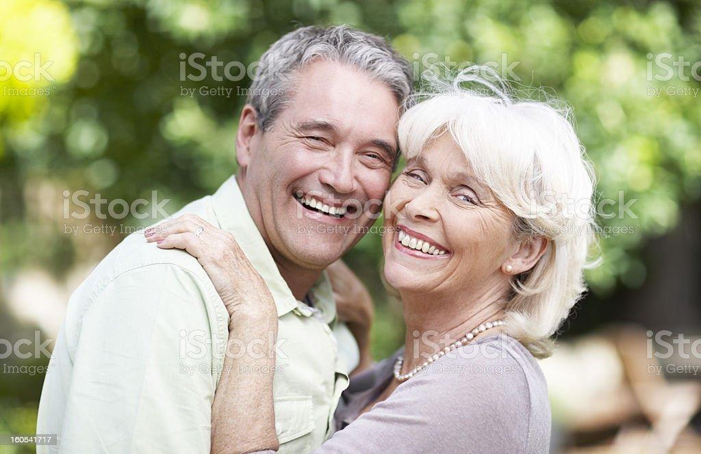 Enjoyng each others company royalty-free stock photo