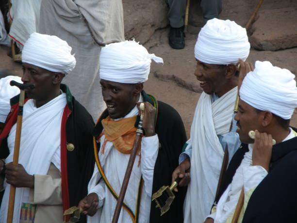 Enkutatash, Víspera de Año Nuevo etíope - foto de stock