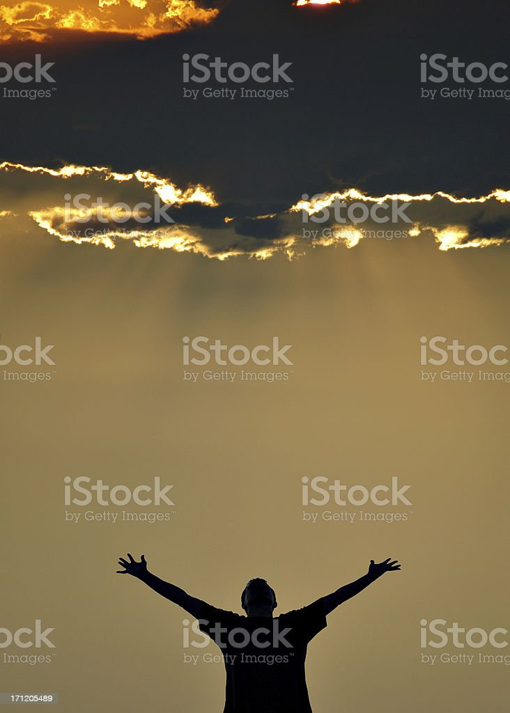 Enlightenment royalty-free stock photo