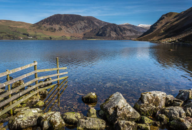 ennerdale water - cumbria stock photos and pictures