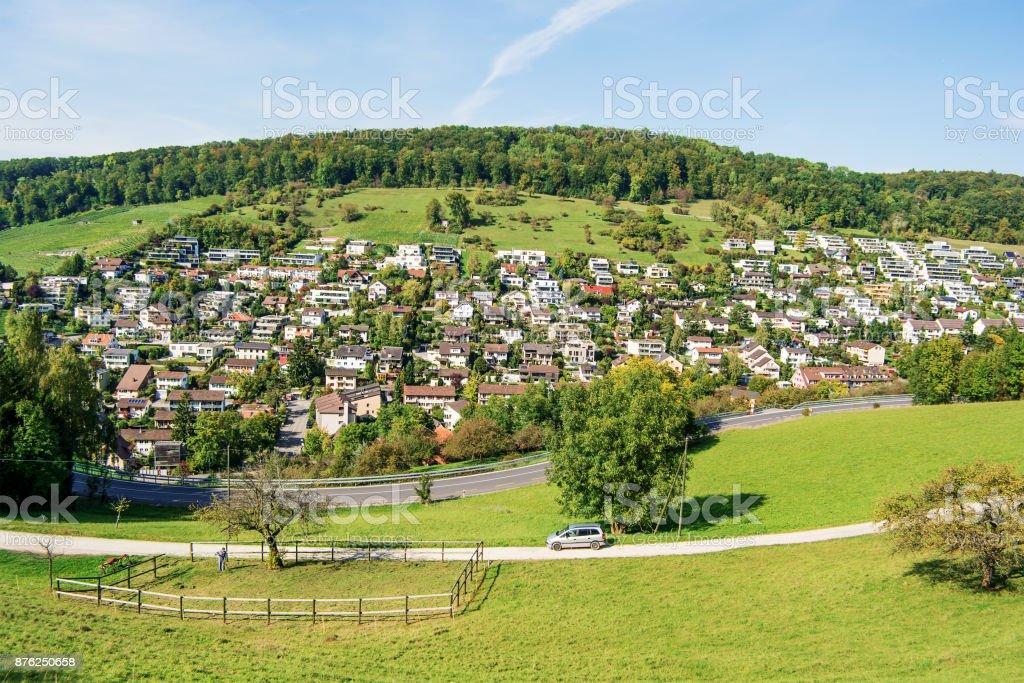 Ennetbaden (Switzerland) stock photo