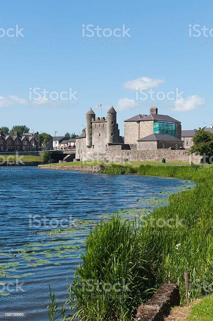 Enniskillen Castle stock photo