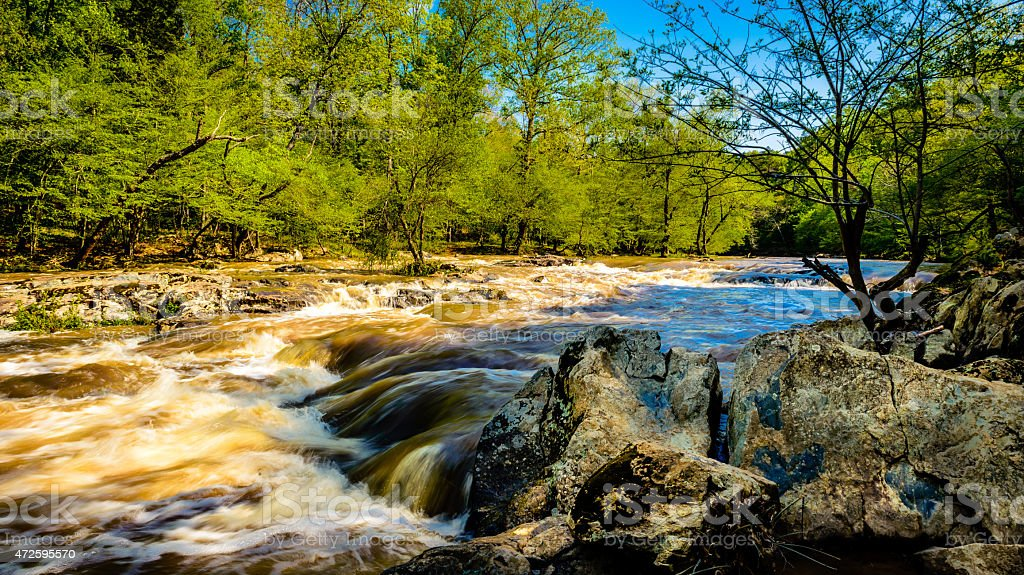 Eno River stock photo