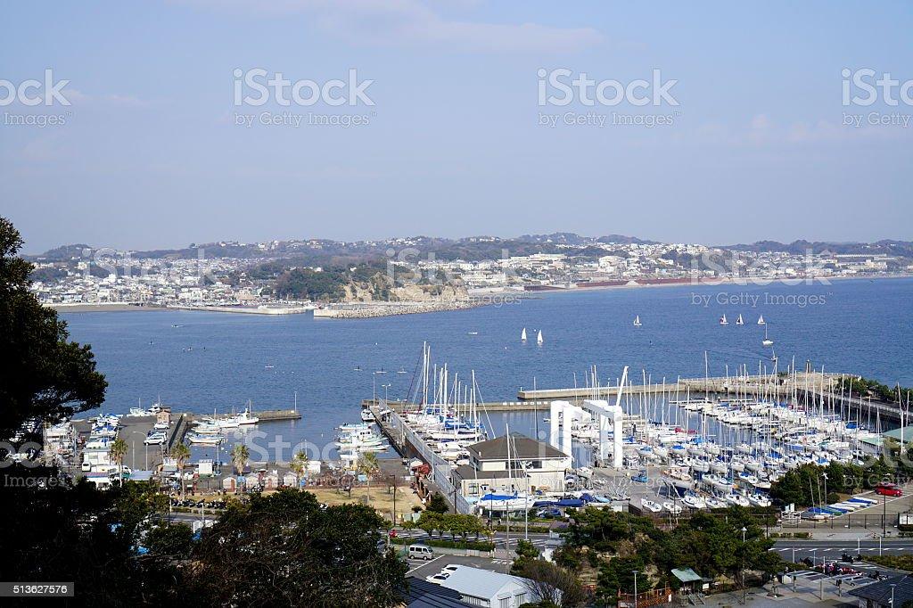 Enoshima stock photo