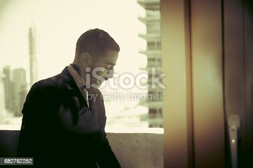 istock Enough of smoking cigarettes, now let me resume work 682762252