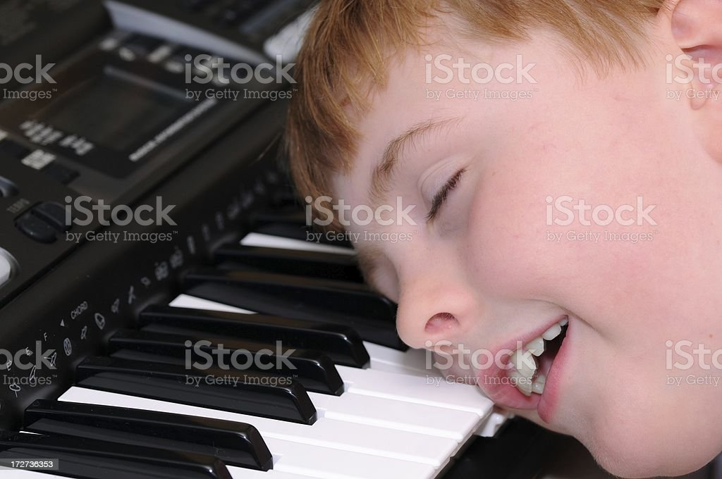 Enough practice! royalty-free stock photo