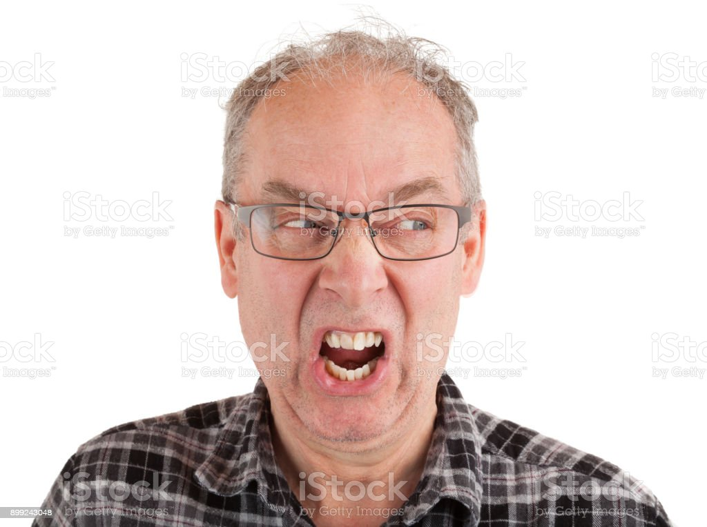 Enraged stock photo
