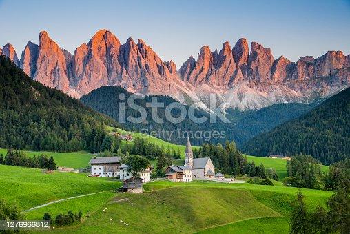 istock Enrosadira in Val di Funes 1276966812