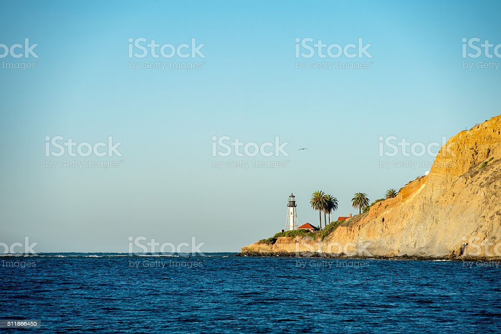 Ensenada México baja California Faro - foto de stock