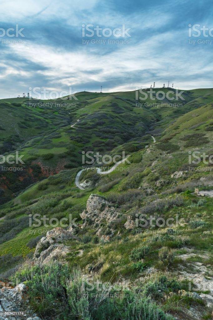 Ensign Peak royalty-free stock photo