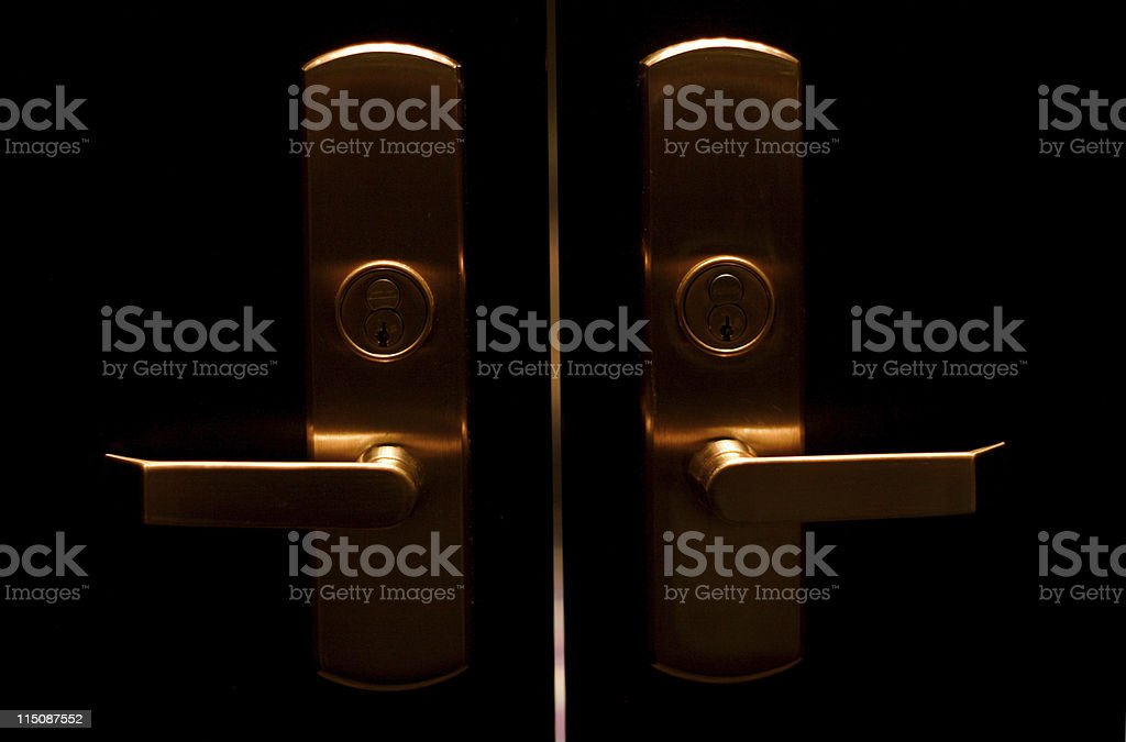 enter - door entry stock photo