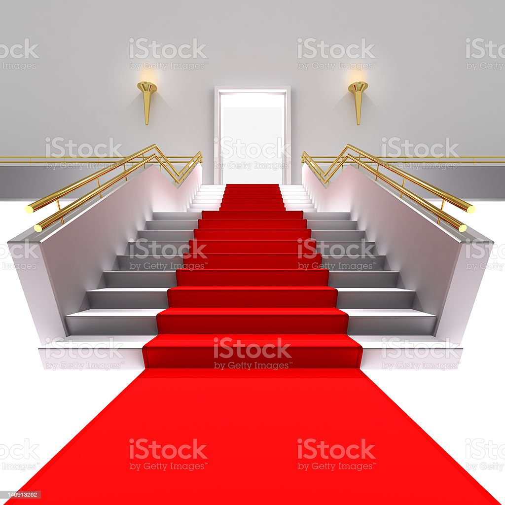 Enter Here royalty-free stock photo