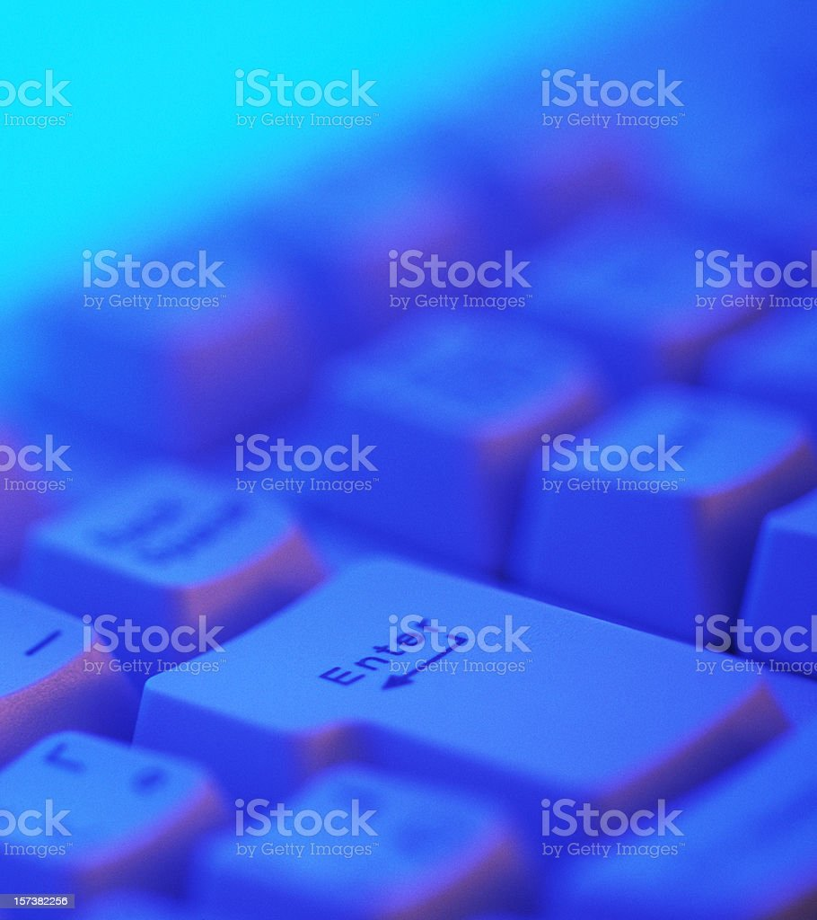 Enter Key royalty-free stock photo