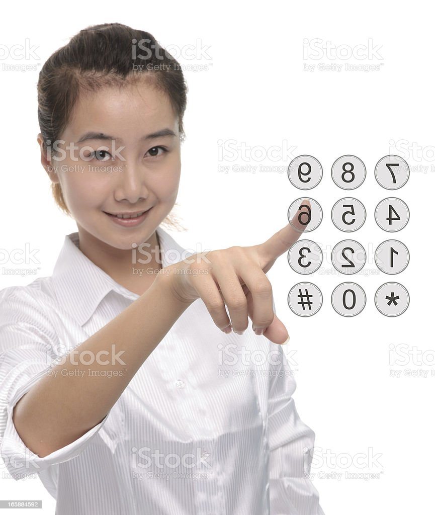 Enter number royalty-free stock photo