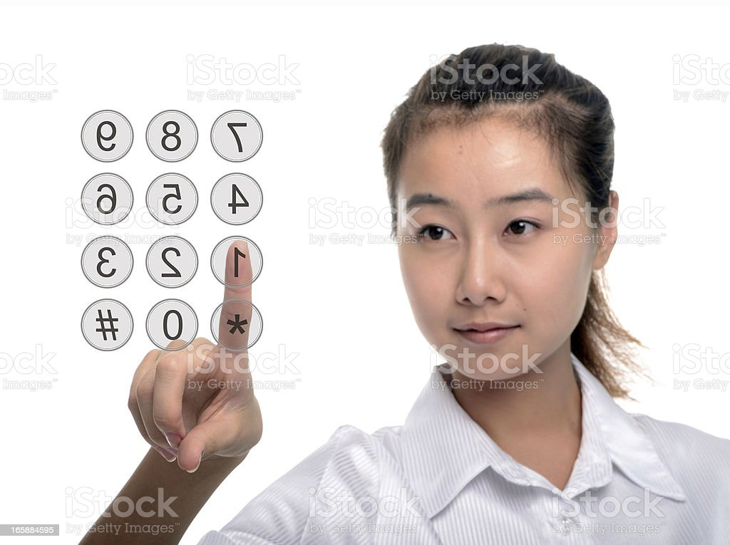 Enter Password royalty-free stock photo