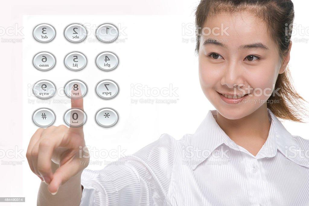 Enter Password stock photo