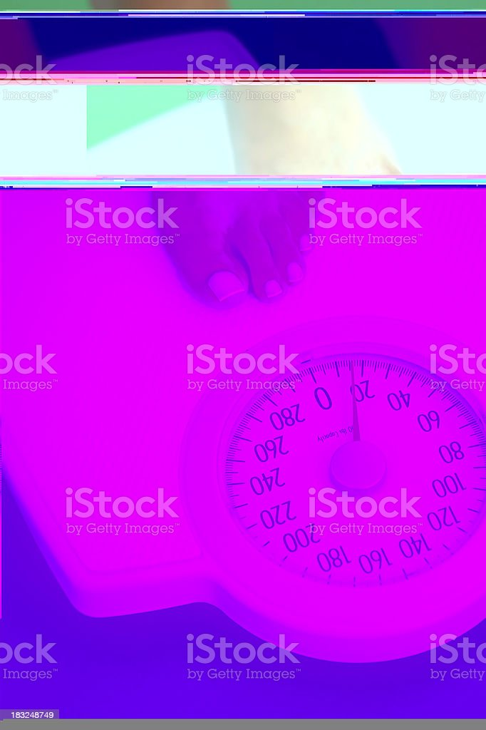 enter the scale royalty-free stock photo
