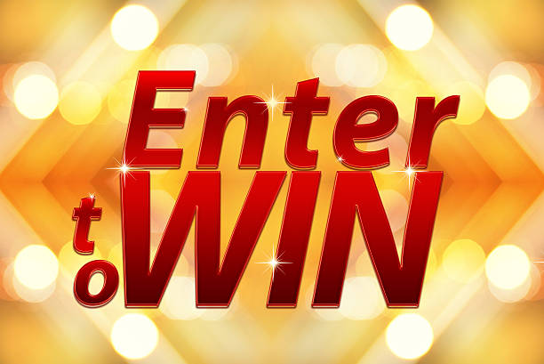 Enter to win words on Bokeh background Enter to win words on Bokeh background enter key stock pictures, royalty-free photos & images