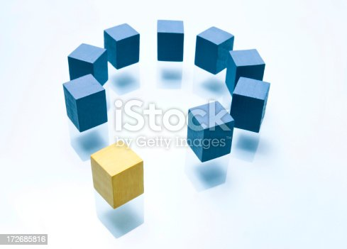 istock Entering the circle 172685816