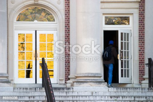 istock Entering the Library 89355036