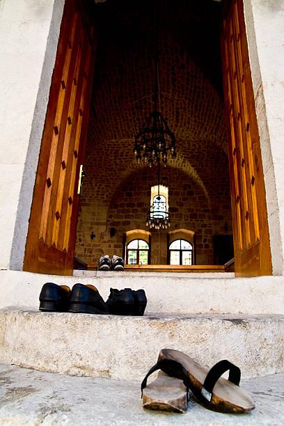 Ingresar la mezquita - foto de stock