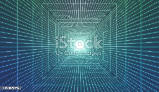 Internet, Travel, Three Dimensional, Technology, Tunnel