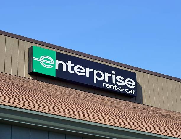 Enterprise Rent-A-Car stock photo