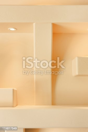 168248826 istock photo Entertainment Center Niche Wall Decor 174817549