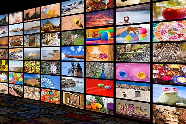Entretenimiento concepto de alta definición - foto de stock