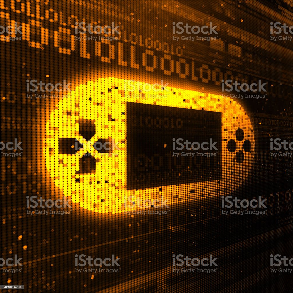 Entertainment Device stock photo