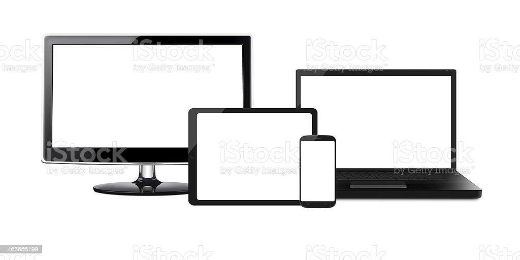 Entertainment Devices - XL stock photo