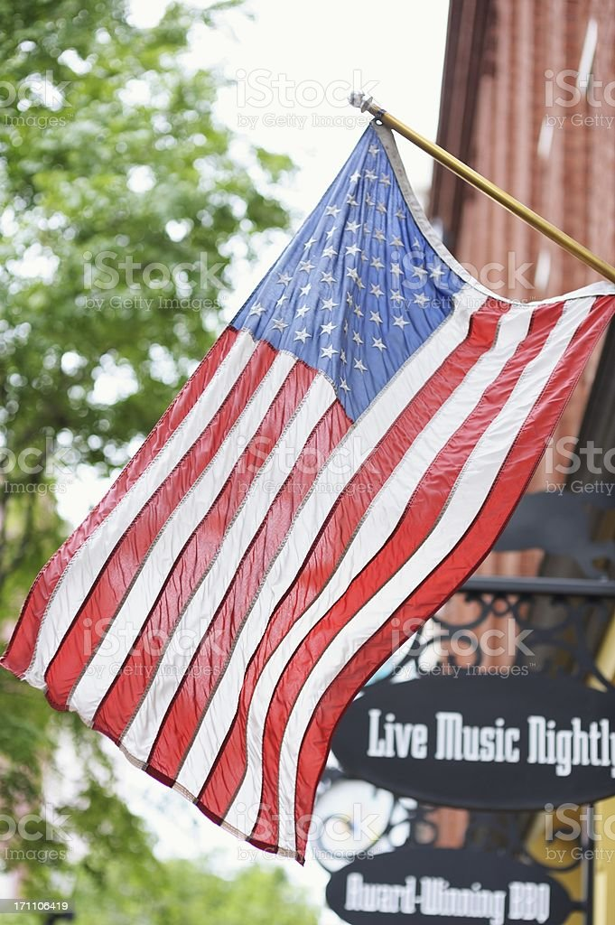 Entertainment District in Nashville Tennessee USA stock photo
