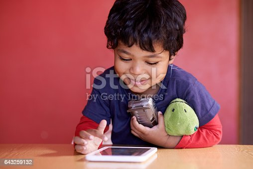 istock Entertainment for a technologically savvy child 643259132