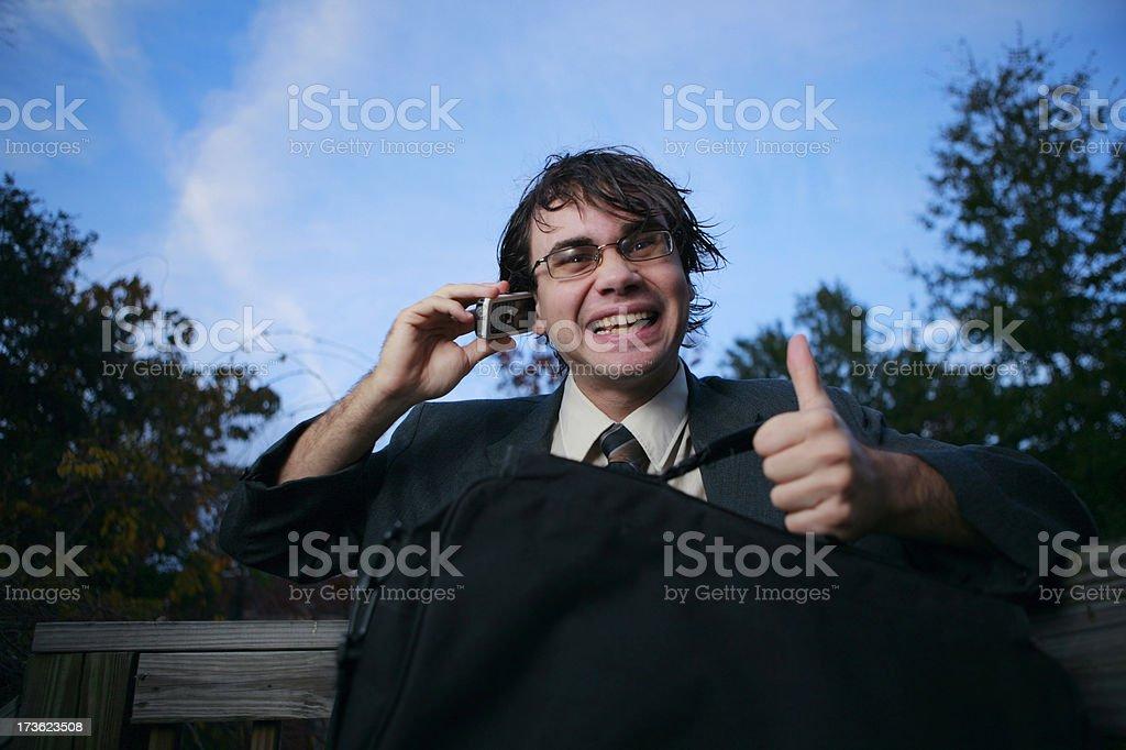 Enthusiasm stock photo