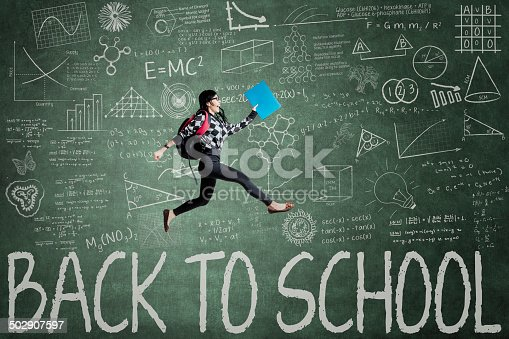 istock Enthusiasm student back to school 502907597