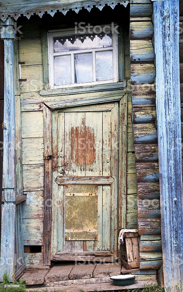 Entrance door royalty-free stock photo