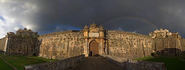 Eingang zum Fort von Anmut, Elvas, Portugal – Foto